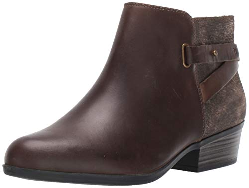 Clarks Women's Addiy Gladys Fashion Boot, Taupe Leather, 100 M US