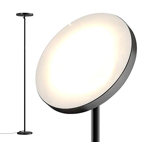 Floor Lamp,30W Sky Super Bright 2800K-7000K Floor Lamp with Programmable Timer, 2800lumens LED Floor Lamp with Stepless Dimmer&4 Color Temperatures,Reading Standing Lamp for Living Room,Bedroom,Office