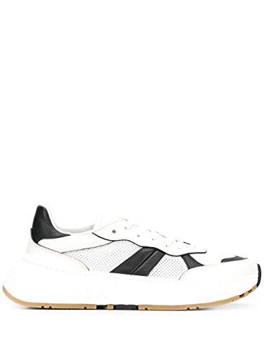 Bottega Veneta Luxury Fashion Uomo 565646VJE219086 Bianco Pelle Sneakers | Ss21