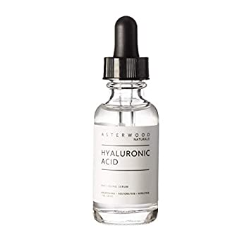 Asterwood Naturals Pure Hyaluronic Acid Serum for Face  Plumping Anti-Aging Hydrating Facial Moisturizer Product – A Hero Ingredient  Fragrance Free Paraben Free 29ml/1 oz