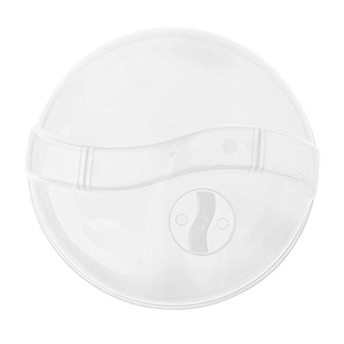 Boji Cloche de protection pour micro-ondes / four à micro-ondes - Robuste et résistant - Convient à la plupart des assiettes.