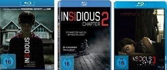 Insidious Chapter 1 - 3 im Set - Deutsche Originalware [3 Blu-rays]