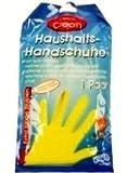 5 Paar Haushalts-Handschuhe,Gr. M,Naturkautschuk -