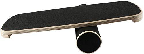 Best Goods Improve Your Skills. Balance Board in legno, diametro 40 cm, bilanciamento professionale per esercizi, palestra, sport, sport, allenamento, rehab, formazione (Black1)
