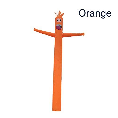 MJJEsports 4m Opblaasbare Reclame Buis Man Lucht Lucht Dansende Puppet Vlag Wacky Golvende Wind Man Decoraties