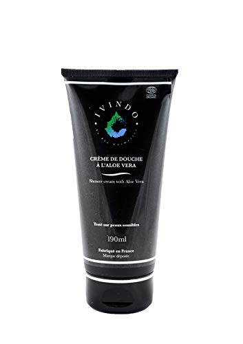 IVINDO BIO - Crème de Douche à l'Aloe Vera 190ml | Peau séche et sensibles | Certifié bio