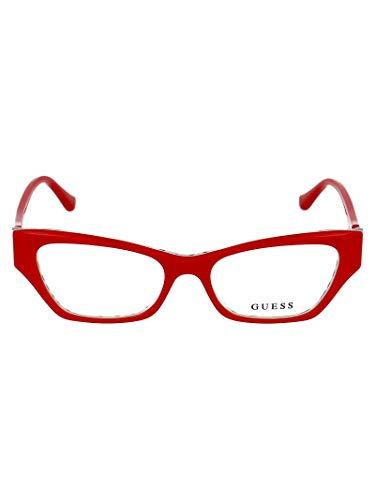 Moda de lujo | Guess Woman GU2747066 Gafas de acetato rojo | Primavera Verano 20