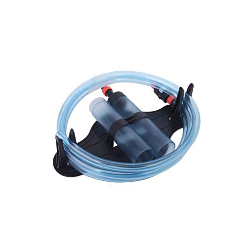 Pompe à eau pour aquarium - Pompe à sable - Absorbeur d'eau - Secouez le siphon - Dispositif de chasse d'eau - Séparateur de gravier