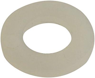 Weiß Kunststoff Unterlegscheiben Nylon Gasket Pad DIN125 M2,2.5,3,4,5,6,8,10~14