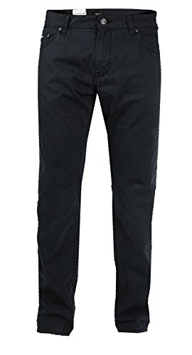 Hugo Boss Herren Hose | Wyoming (Regular Fit) schwarz 100% Cotton (W38/L30)