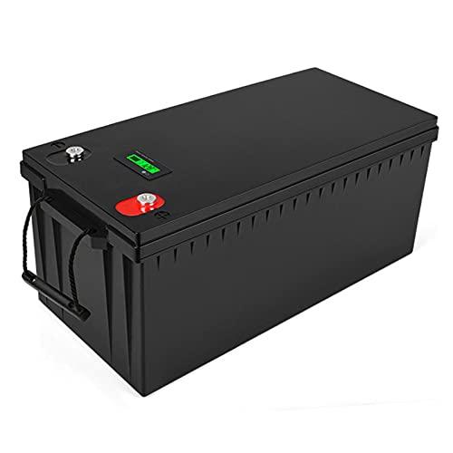 Celdas Fosfato Hierro Y Litio, Batería Lifepo4 12 V, Batería Almacenamiento Energía Ciclo Profundo 200 Ah, para RV/Solar/Emergencia/Autocaravana/Aplicación Fuera De La Red