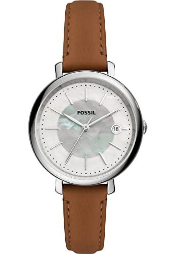 Fossil Damen-Uhren Solar One Size Braun 32017197