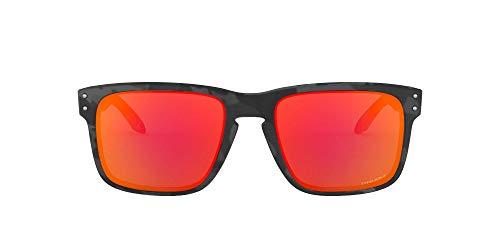 Oakley Herren Holbrook 9102e9 Sonnenbrille, Braun (Black Camo), One Size (5er Pack)