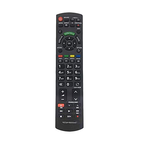Mando a distancia de repuesto N2QAYB000487 para televisor Panasonic Viera TV mando a distancia para Panasonic LCD LED TV