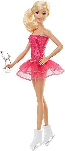 Barbie- Bambola Pattinatrice sul Ghiaccio, FFR35