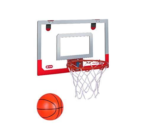 Aro de baloncesto, aro de baloncesto para niños sin golpes, tablero de aro de tiro montado en la pared para interiores, aro de baloncesto del dormitorio en casa, puede lanzar de 1...