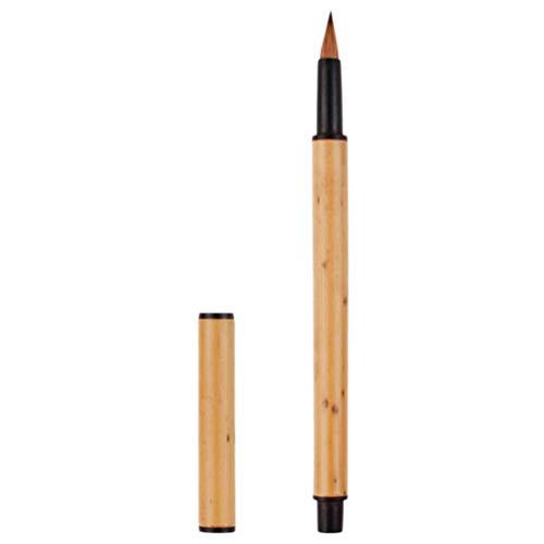NUOBESTY Profesional de Caligrafía Maobi Hecho a Mano Chino Pincel de Escritura de Caligrafía Japonesa Dibujo Pincel de Pintura para Chino Japonés Caligrafía Y Pintura Profesional
