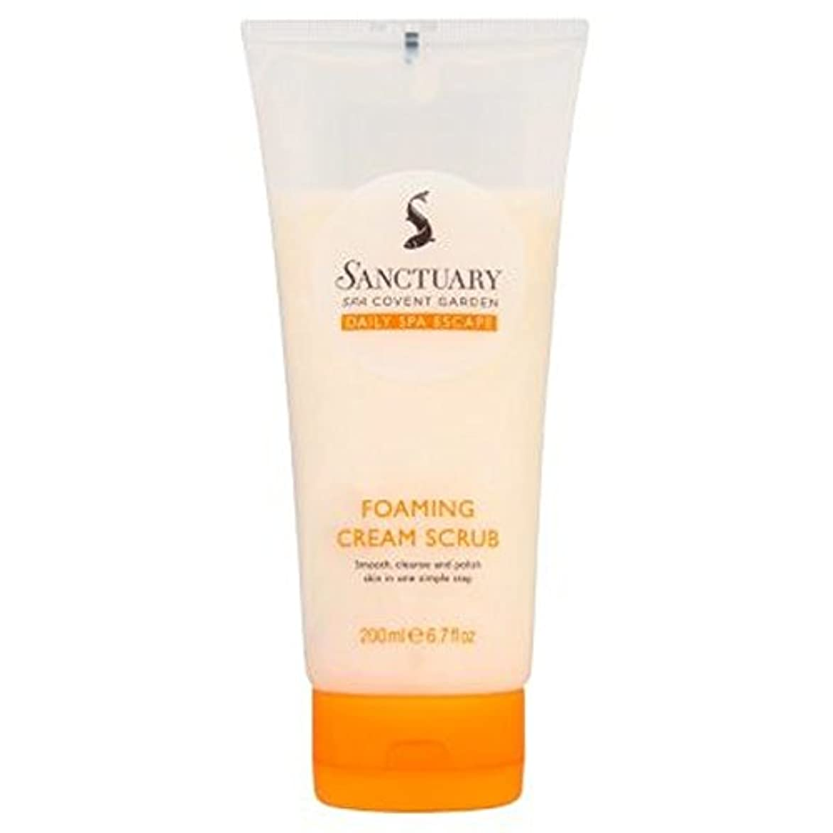 ヘリコプタービバ刈る聖域発泡クリームスクラブ (Sanctuary) (x2) - Sanctuary Foaming Cream Scrub (Pack of 2) [並行輸入品]