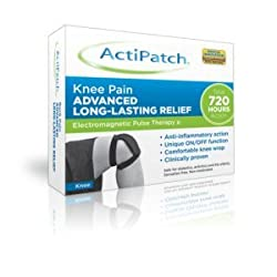 ActiPatch uses Electromagnetic Pulse Therapy to relieve pain and inflammation. Low level and safe electromagnetic pulses stimulate cells to speed recovery Small, convenient and economical patch for personal use Long lasting: 720 hours of controlled u...