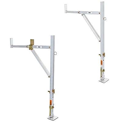 Apex No-Drill Aluminum Ladder Rack