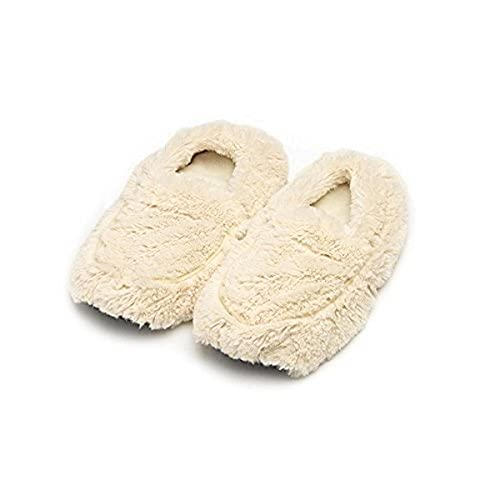 Intelex Warmies Slippers, Cream (FW-SLI-1)