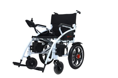 Hercules Lite All Terrain Heavy Duty Powerful Dual Motor Foldable Electric Wheelchair Motorized Power Wheelchairs Silla de Ruedas Electrica para Adultos