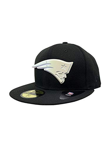 New England Patriots New Era 2017 NFL Official Sideline On Field 59FIFTY Fitted Hat, Black Polished Piece, 7 1/8