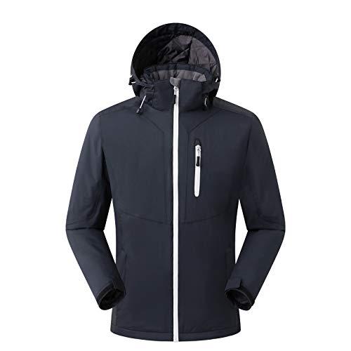Eono Essentials, giacca da sci, da uomo, colore nero, taglia S