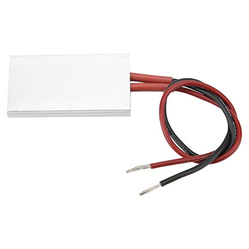 Elemento Calefactor PTC Aluminio Seguro De Usar Placa Calefactora Termostática Resistente A Altas Temperaturas Alta Confiabilidad Para Aire Acondicionado Calefacción Eléctrica(220V 80 ℃)