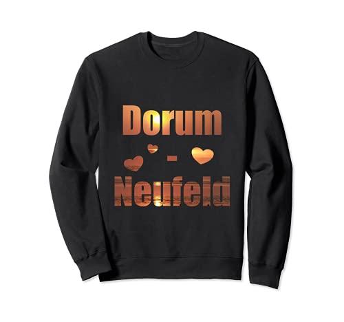 Dorum-Neufeld Wurster Nordseeküste Sonnenuntergang Sweatshirt