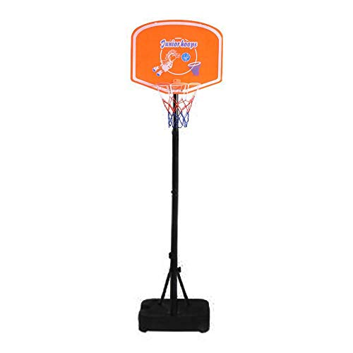 Best Deals! HAPA Kids Portable Basketball Stand (Rim Height 1.25-1.53m) Maximum Applicable Ball Diam...