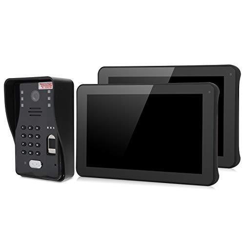 Videoportero con Timbre, videoportero 1080P, Edificio residencial de Oficina con Tarjeta IC para Warehouse Home(European regulations)