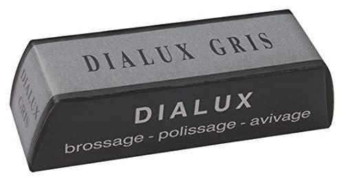 Pasta abrillantadora Dialux gris para acero común pulido relojes cajas