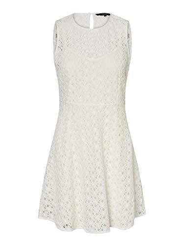 Vero Moda dames cocktailjurk VMALLIE LACE S/L SHORT DRESS NOOS