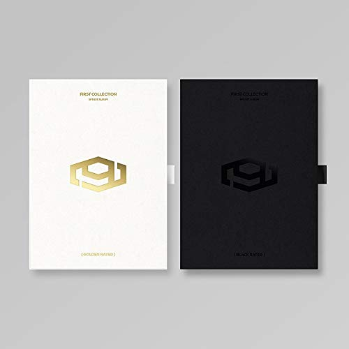FNC Entertainment SF9 - First Collection (Vol.1) Album+Folded Poster+Extra Photocards Set (Black Rated ver.)