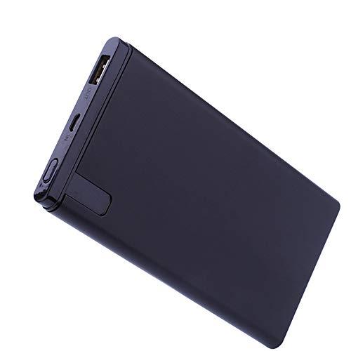 GWX 10000 mAh draagbare oplader, snellaadfunctie 2A met twee uitgangen en led-digitaal display, compatibel met iPhone Android enz.
