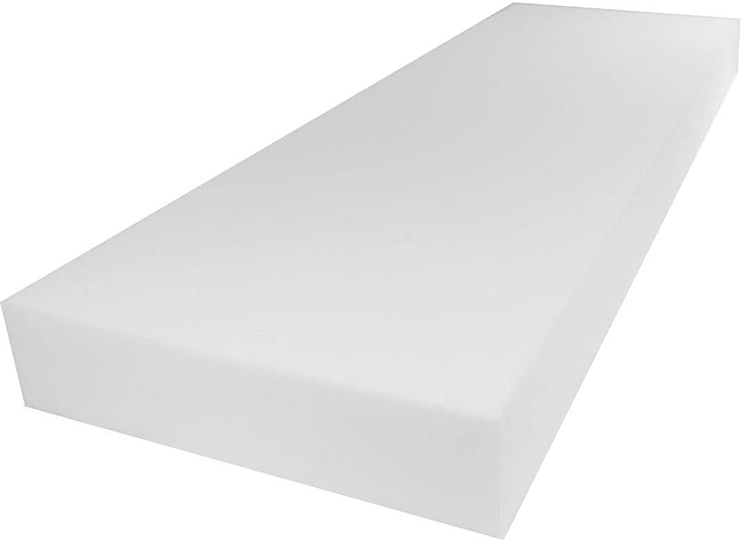 Mybecca Upholstery Foam Cushion Sheet High Density, 4