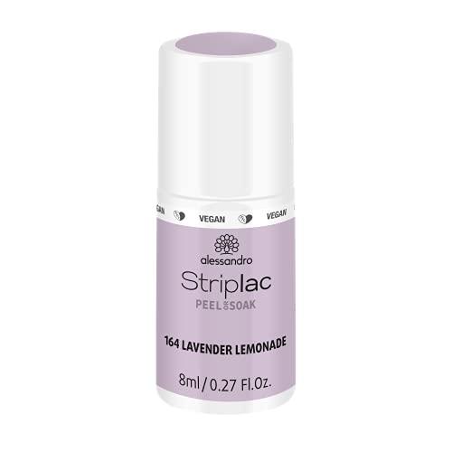 alessandro Striplac Peel or Soak LAVENDER LEMONADE - LED-Nagellack in pastelllila- Für perfekte Nägel in 15 Minuten, 8ml