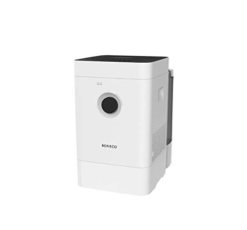 Boneco Purificador de Aire híbrido, Blanco, 280 × 400 × 465 mm