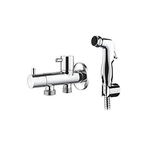 Ibergrif M22005, Grifo de Bidé con Hidro Agua Fría, Monomando Empotrar para Higiene Íntima, Cromo