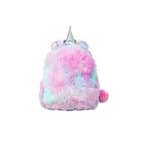 La Bolsa de Felpa Unicornio Mochila Felpa Linda backbag Mini Unicornio Mochila Creativo Hombro para Pink Girls