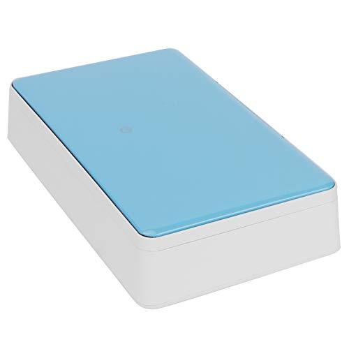 Limpiador ultravioleta fácil de limpieza Caja de limpieza UV Caja UV de aromaterapia para el hogar(blue)