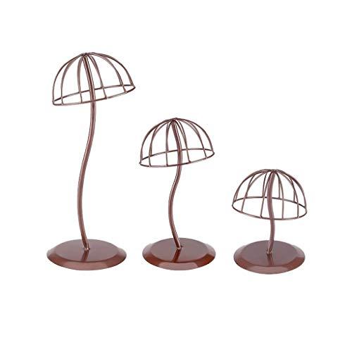 Yinghuawen Mushroom Hut Rackkappe Halterung Hut Unterstützung Regal Shop Requisiten, schön und großzügig, Schmiedeeisen Material, effektiv unterstützen das Regal, zeigen die tragende Kappe Effekt, sti