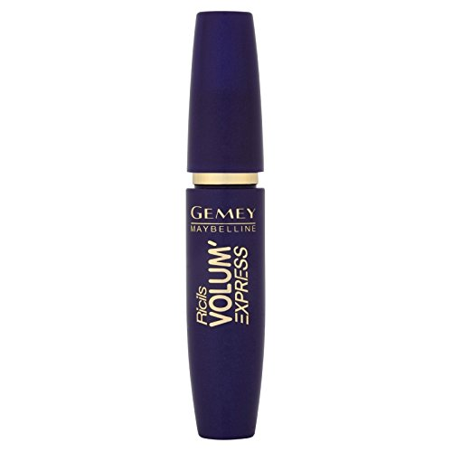 Maybelline New York Volum Express Ricils Volumen-Mascara, Blau