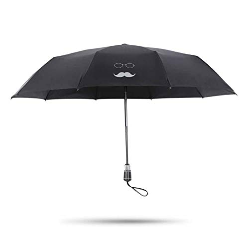 ZPE Auto Open/Sluiten Anti-UV zon Paraplu Winddicht Vouwen Zwarte Paraplu 10 Ribs Grote Luifel Compact Reizen Paraplu voor Vrouwen Mannen Een Handige Operatie