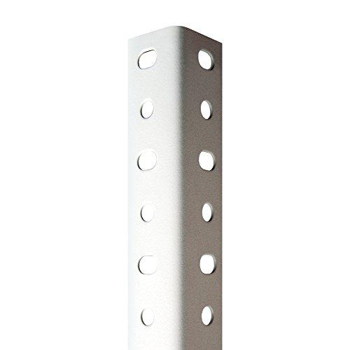 Perfil Blanco Estantería Para montaje con Tornillos (Tornillos no incluidos De Venta en nuestra tienda). 35 mm x 2000 mm. 8 unidades.