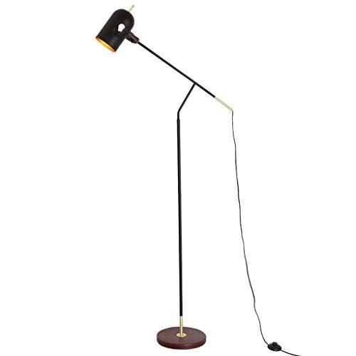 Lámpara de pie Post-Modern Iron Art LED Lámpara de pie Lámpara de pie de Metal para Sala de Estar Dormitorio Investigación Lámpara de pie de Ahorro de energía Lámpara de pie