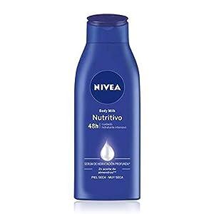 Nivea Body Milk Nutritivo Leche Corporal Hidratación Profunda, Piel Seca y Muy Seca, 400ml