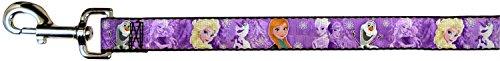 Buckle Down-Leine–Frozen–Die Eiskönigin/Anna, ELSA, Olaf, für, Violett, 6m lang, 3,8cm breit
