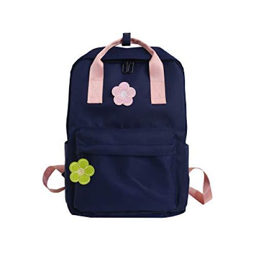 Japanische Ins Harajuku Schultasche Weiblichen Alten Sinn Mädchen Rucksack Koreanische Version Der Kleinen Frischen Blumen Wilden Schüler Rucksack 2 26 * 11 * 35Cm